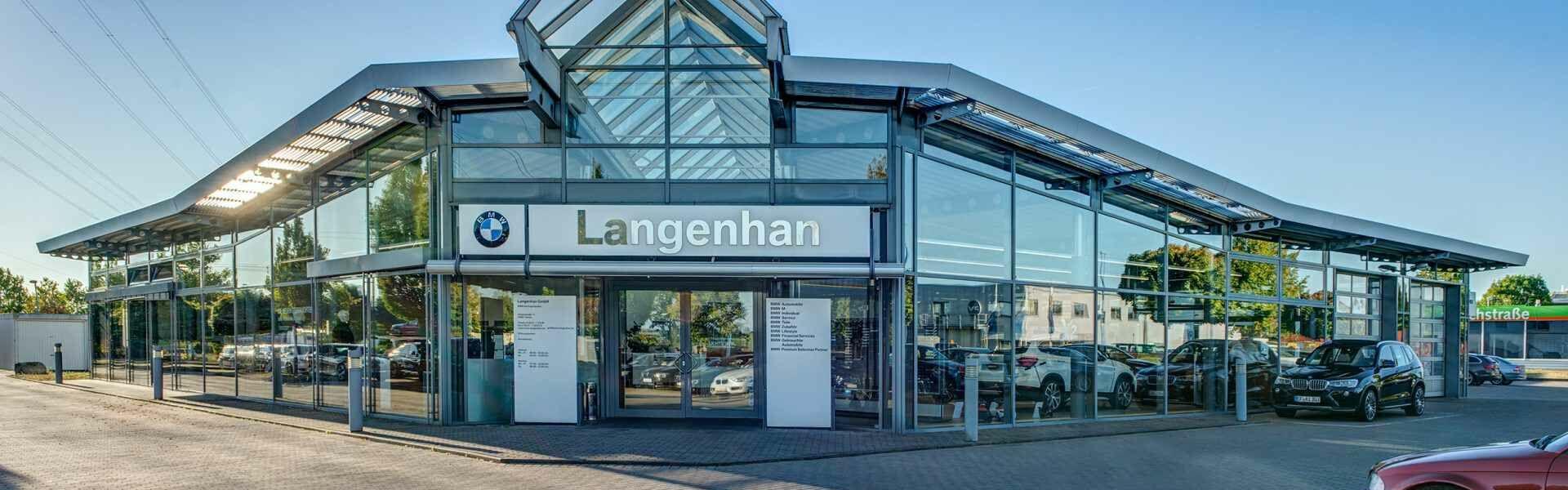 BMW Autohaus Langenhan in Gotha